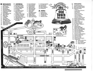 Map of Old Town